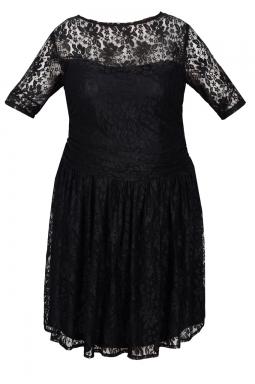 Sukienka XXL Justine czarna