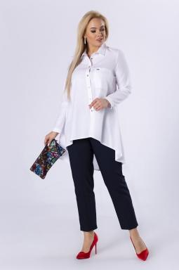 koszula biała plus size