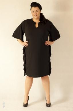 Sukienka XXL Scarlet czarna