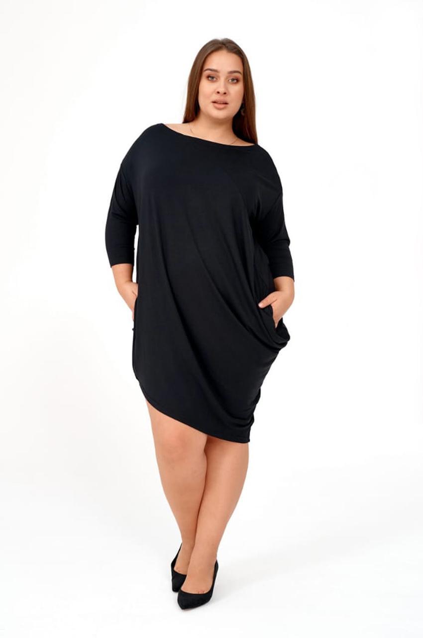 asymetryczna sukienka xxl