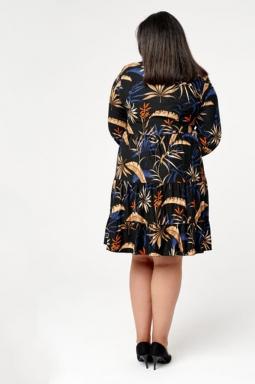 trapezowa sukienka xxl