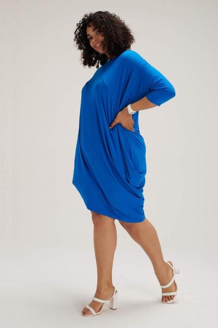 asymetryczna sukienka plus size