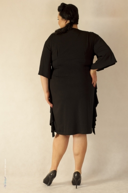 03afa0b8df Sukienka XXL Scarlet Rozmiar 46 48 Kolor czarny
