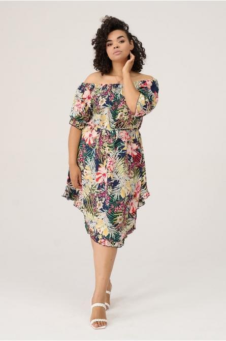 letnia sukienka plus size