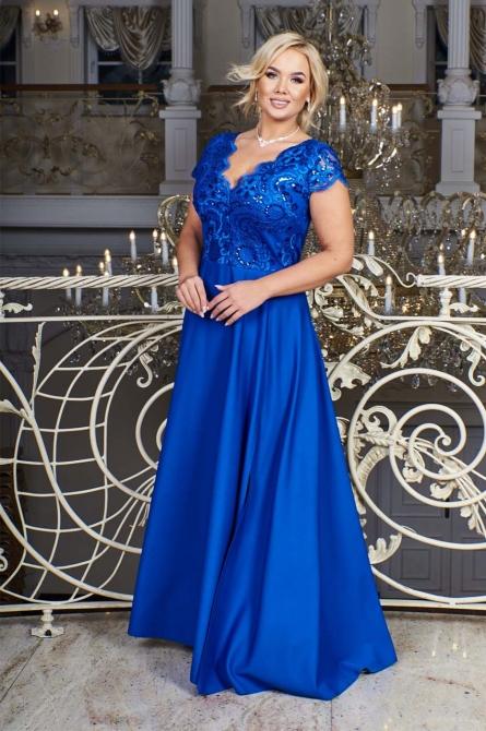 balowa suknia plus size