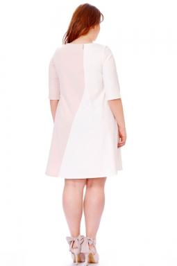 Rozkloszowana sukienka xxl Roxana