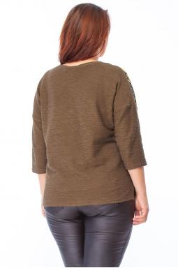 Sweter XXL Face Khaki