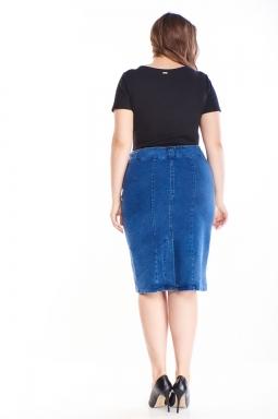 jeansowa spódniczka xxl